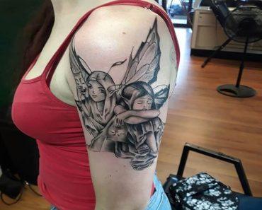 Top Fairy Tattoo