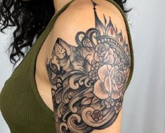 Top Filigree Tattoo