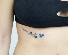 Top Forget Me Not Tattoo