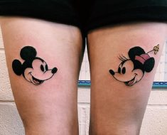 Top Minnie Mouse Tattoo
