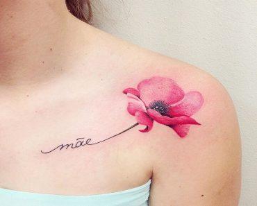 Top Poppy Tattoo