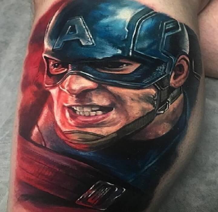 Top Superhero Tattoo