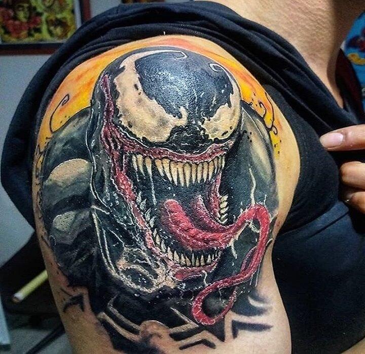 Top Venom Tattoo
