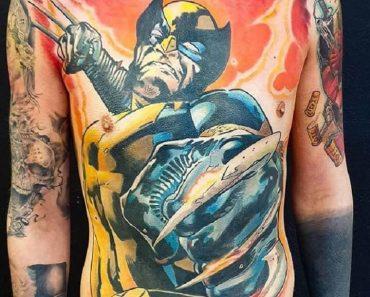 Top Wolverine Tattoo