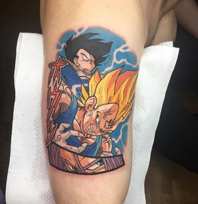 Vegeta Tattoo for Men