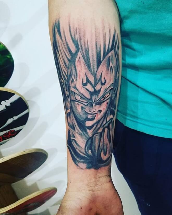 Vegeta Tattoo for Women