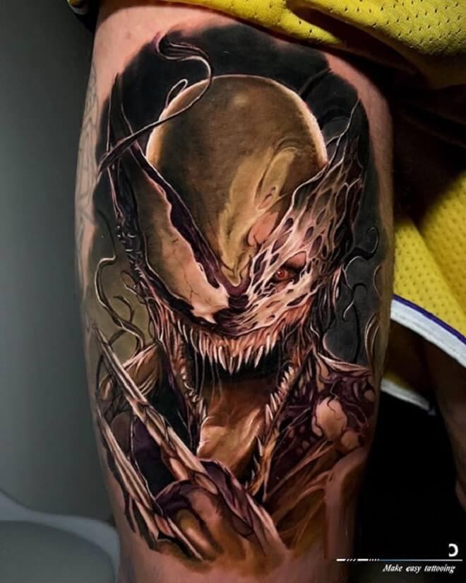 Venom Tattoo Designs
