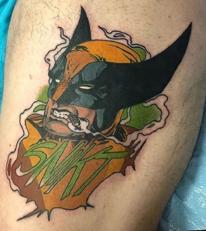 Wolverine Boy Tattoo