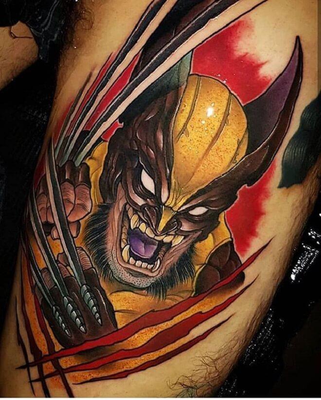 Wolverine Power Tattoo