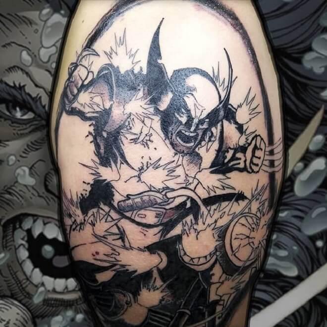 Wolverine Tattoo Artist