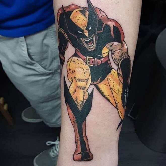 Wolverine Tattoo Style