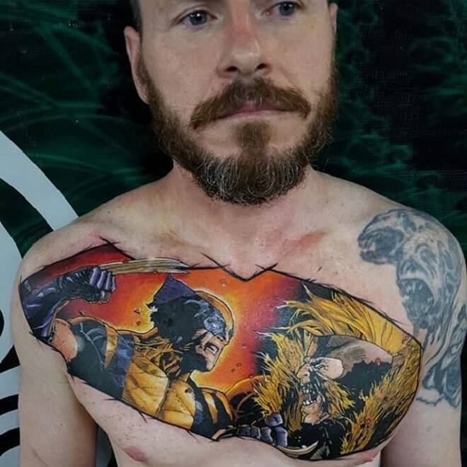 Wolverine Tattoo for Men