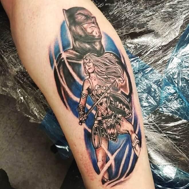 Wonder Women Tattoo