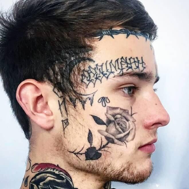 Amazing Face Tattoo