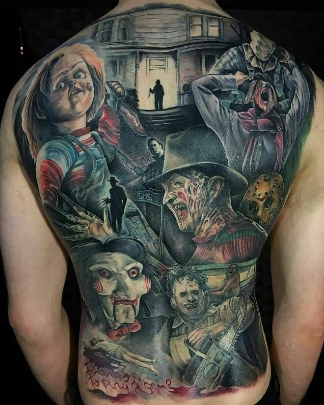Amazing Realism Tattoo on Back