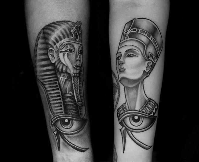 Amazing Traditional Tattoo