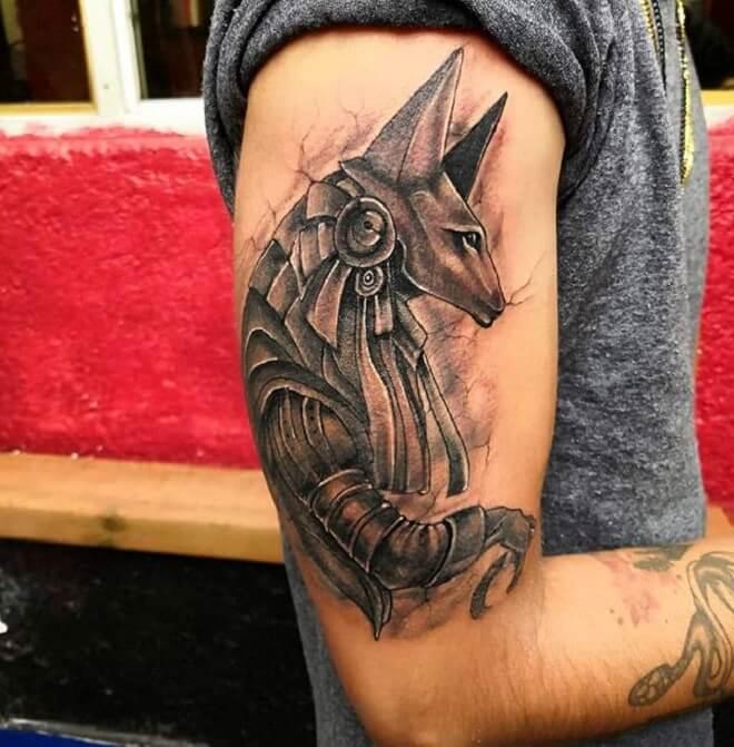 Anubis Tattoo Designs