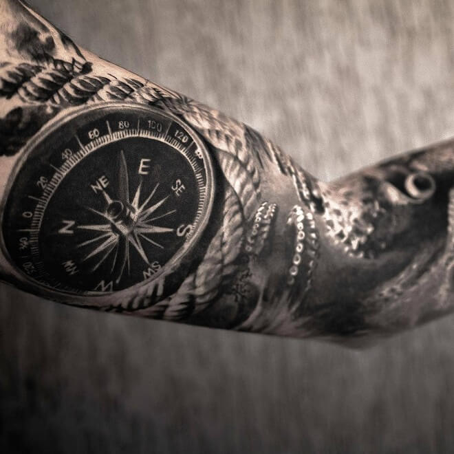 Arm Cool Tattoo for Men