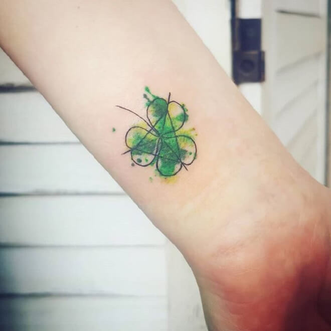 Top 30 Shamrock Tattoos | Awesome Shamrock Tattoo Designs & Ideas
