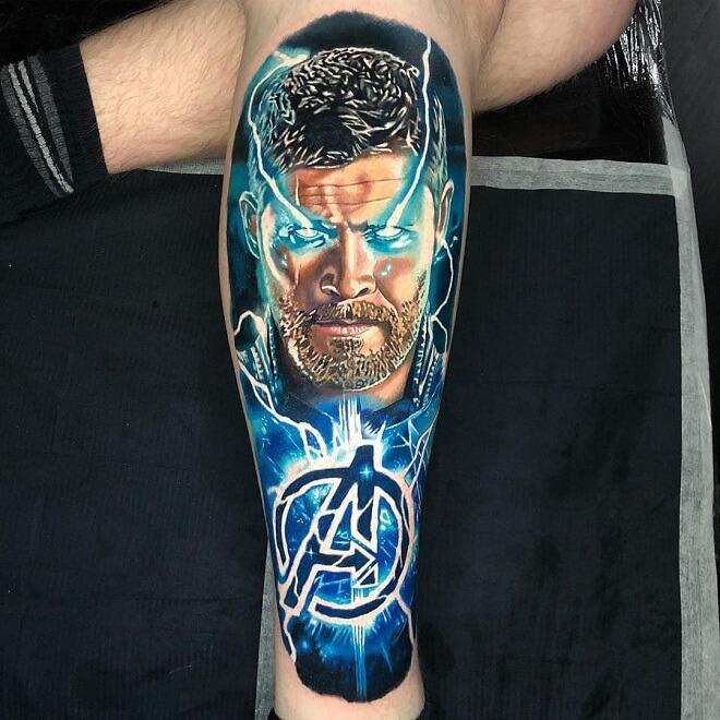 Avenger Thor Tattoo