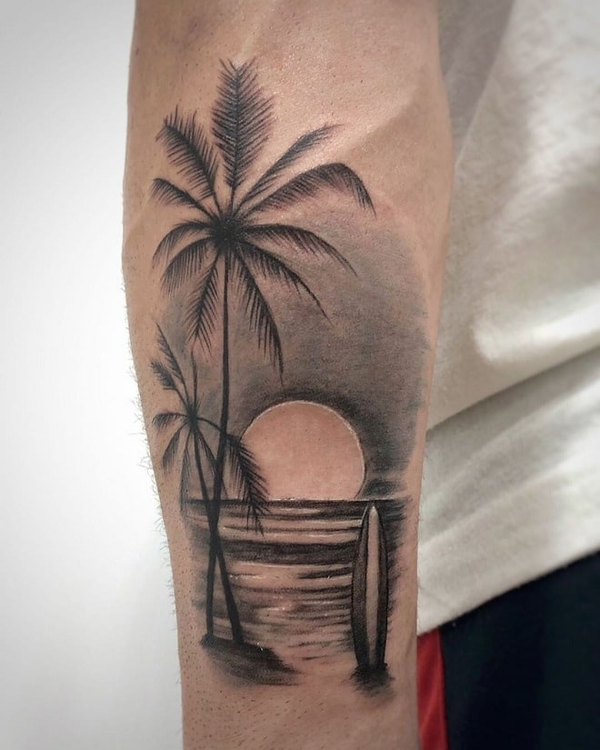 Beach Tattoo