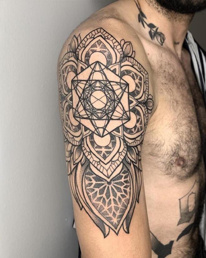 Best Sacred Geometry Tattoo