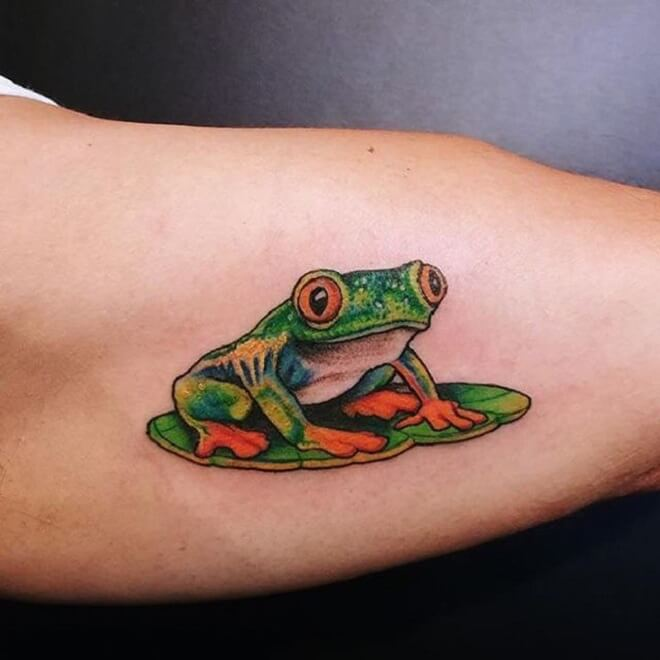 Body Frog Tattoo