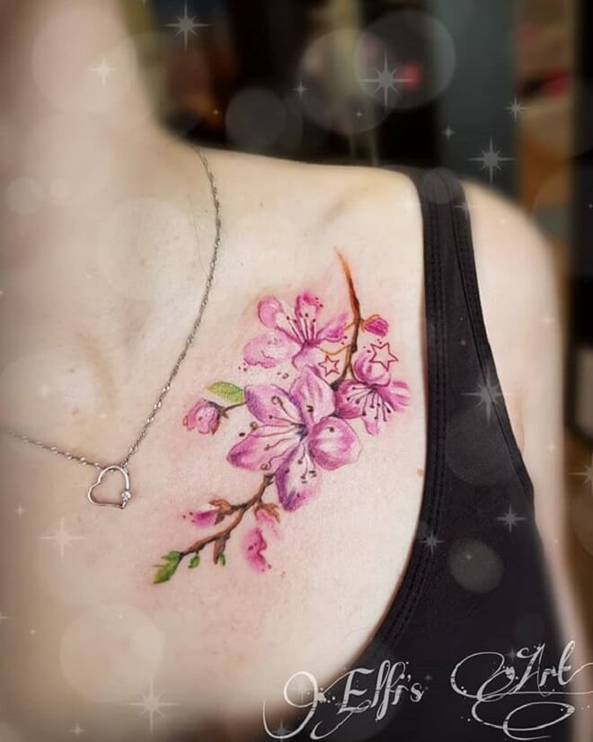 Colorful Tattoo for Women
