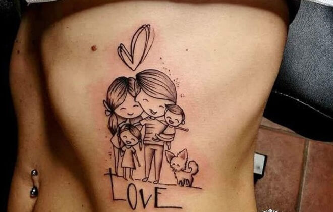 Cute Love Tattoo