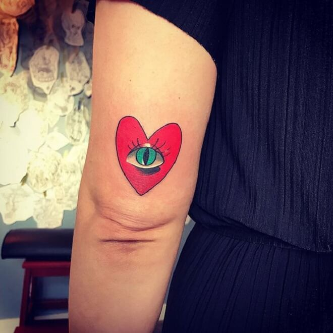 Eye Love Tattoo