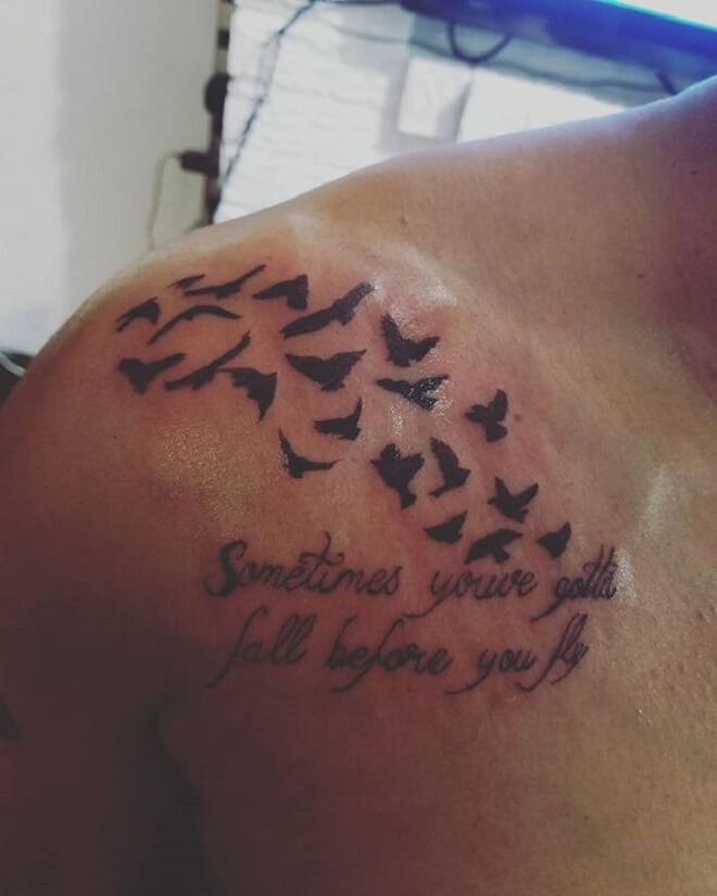 Flock of Birds Tattoo Ideas