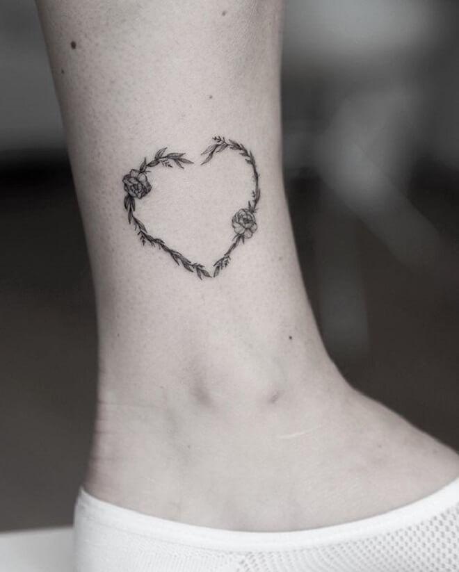 Flower Love Tattoo