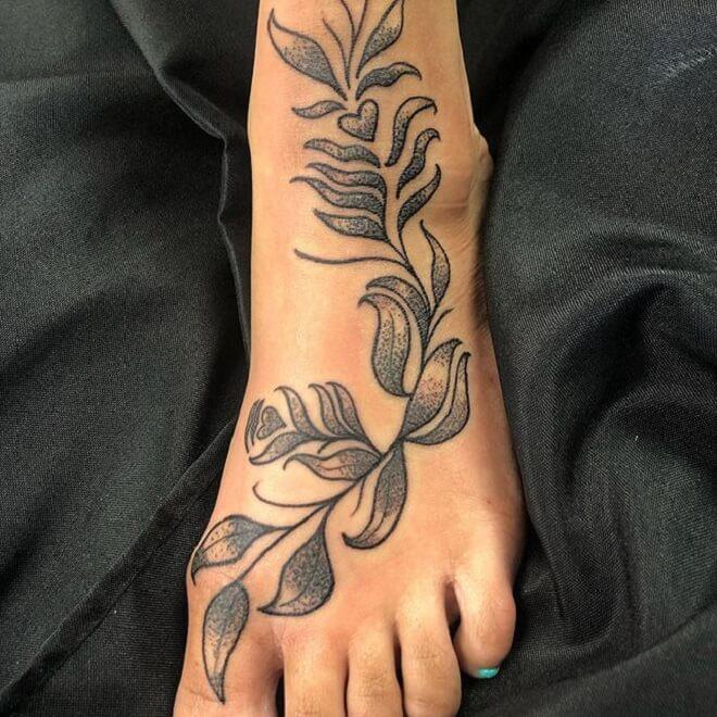 Foot Women Tattoo