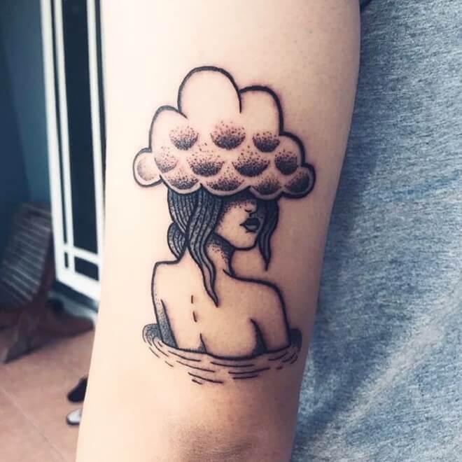 Girl Black Tattoo