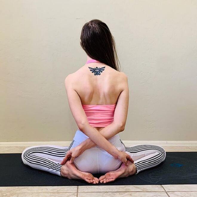 Girl Triforce Tattoo