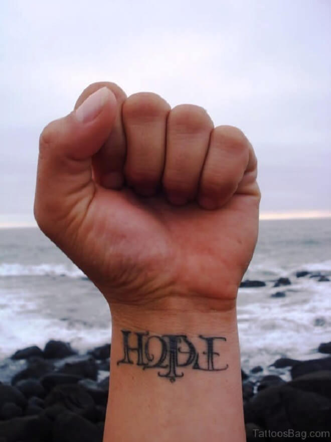 Hand Hope Tattoo