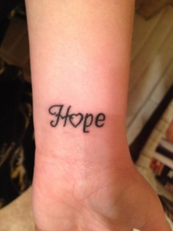 Hope Tattoo Style