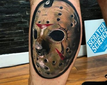 Top 30 Jason Mask Tattoos for Men and Women | New Jason Mask Tattoo Designs & Ideas