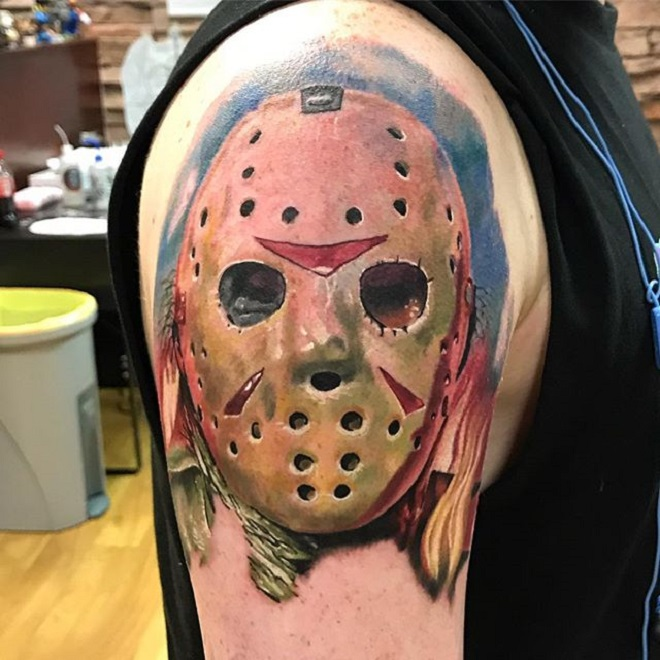 Jason Mask Tattoo Designs