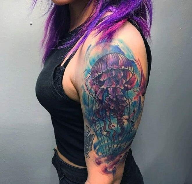 Jellyfish Tattoo Art