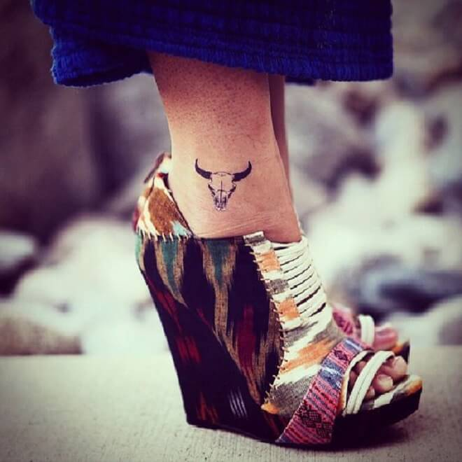 Leg Small Tattoo