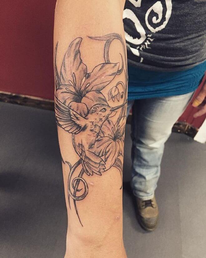 Lily Grey Tattoo