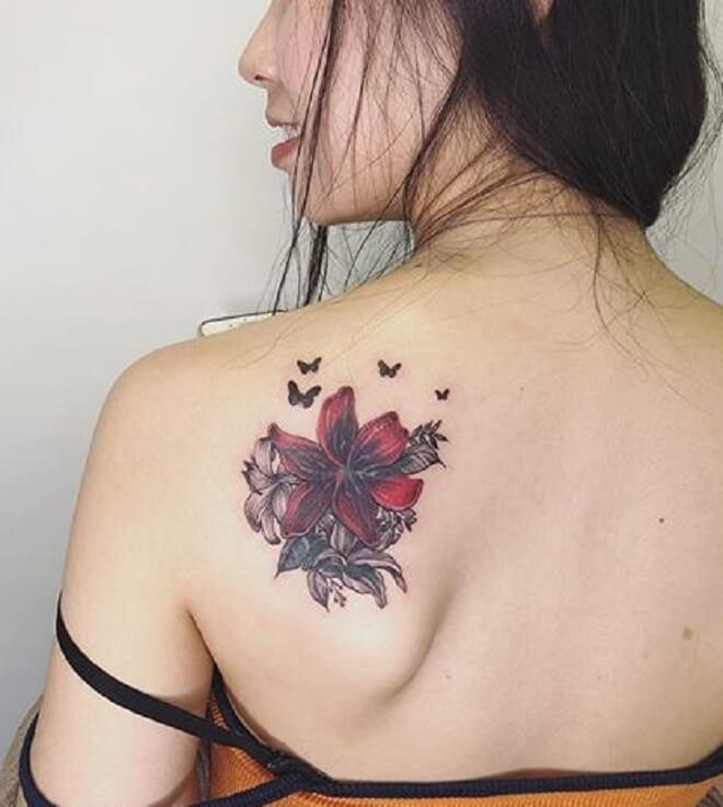 Lily Women Tattoo