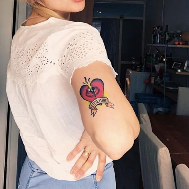 Love Tattoo for Women