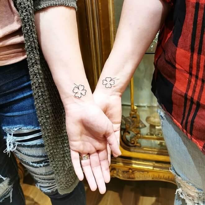 Machining Shamrock Tattoo