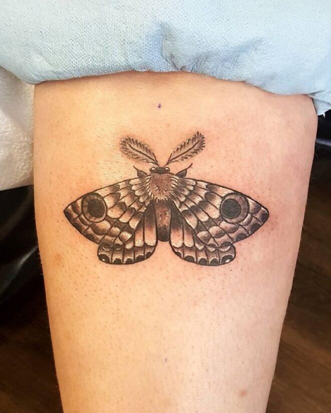 Moth Tattoo Art