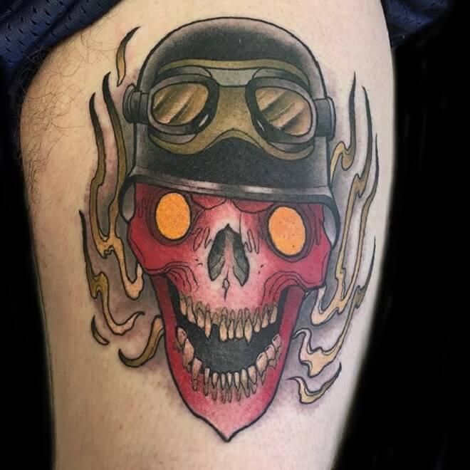 Neo Traditional Tattoo Art