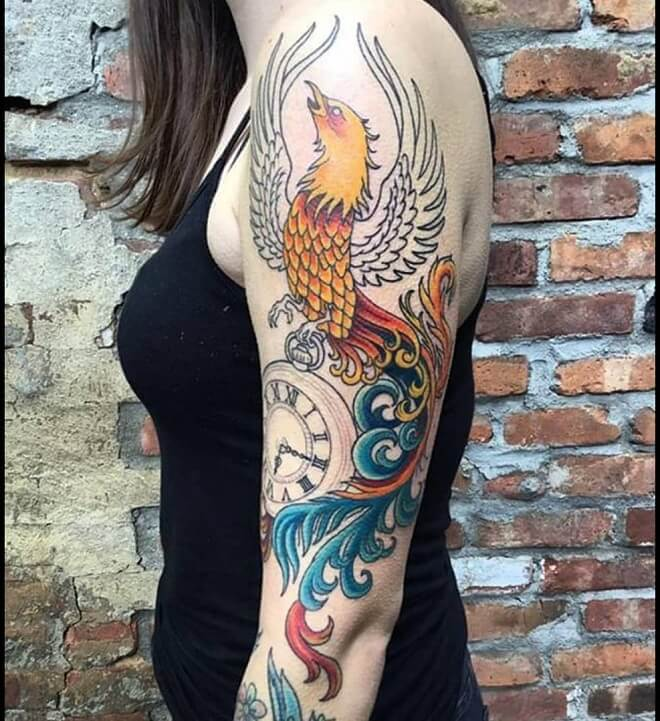 Phoenix Tattoo for Women