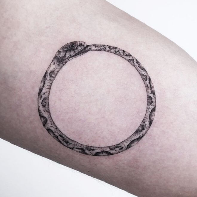 Popular Ouroboros Tattoo