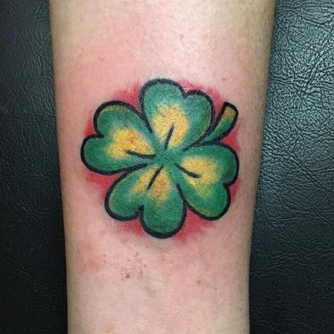 Popular Shamrock Tattoo
